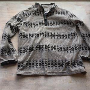 EUC fleece pullover